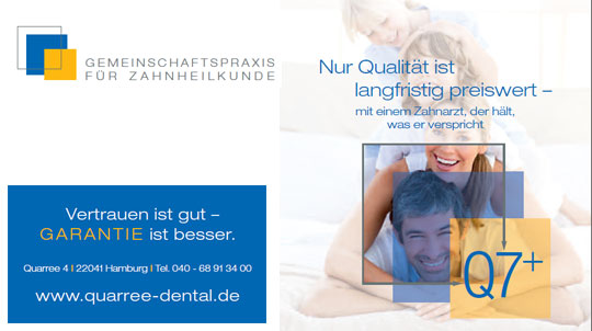 Quarre Dental Garantie