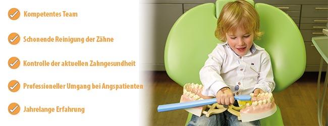 Kinderzahnheilkunde Zahnschmerzen Zahnarztpraxis