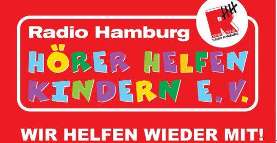 """Radio Hamburg """"Hörer helfen Kinder"""""""